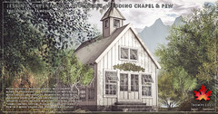 Trompe Loeil - Jessenia Greenhouse, Wedding Chapel & Poolhouse + Pew for FaMESHed August