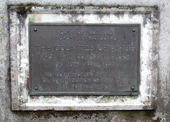 Photo of Mabell Ogilvy bronze plaque