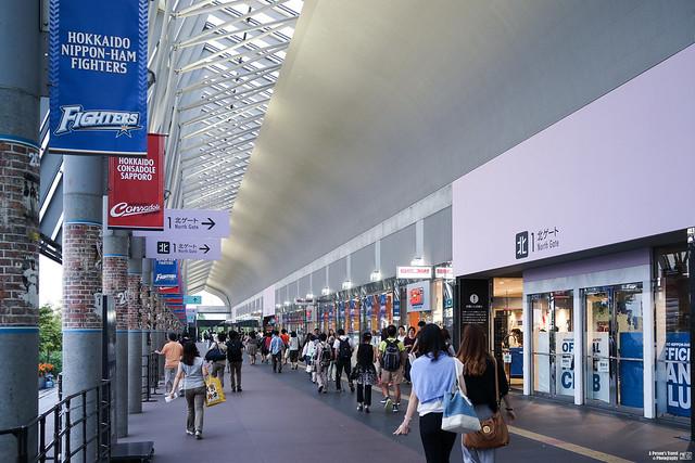 札幌巨蛋北入口