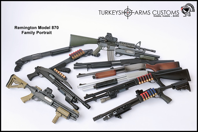Weapon o' Mass Destruction Turkeyshot's custom guns