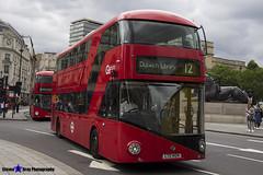 Wrightbus NRM NBFL - LTZ 1424 - LT424 - Dulwich Library 12 - Go Ahead London - London 2017 - Steven Gray - IMG_0953