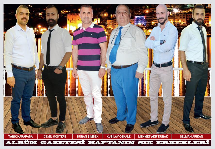 Tarık Karapaşa, Cemil Göktepe, Duran Şimşek, Kubilay Özkale, Mehmet Akif Durak, Selman Arıkan