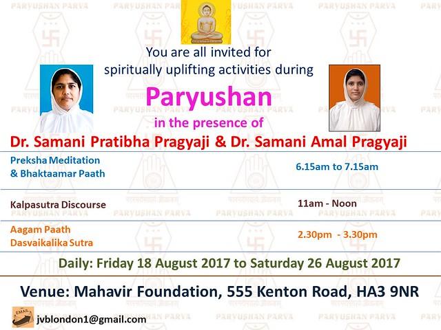 2017.08.18-26 JVB London Paryushan 2