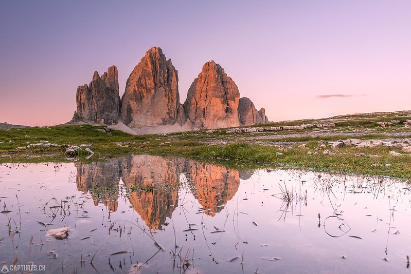 The reflection - Tre Cime
