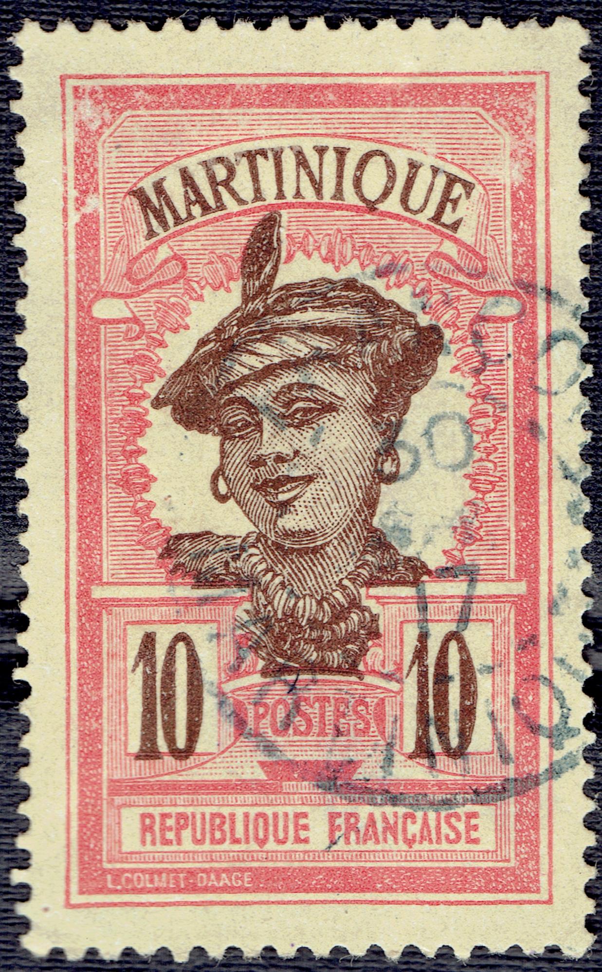 Martinique #67 (1908)