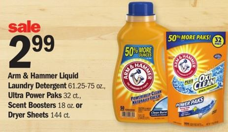 Arm & Hammer Laundry Detergent at Meijer