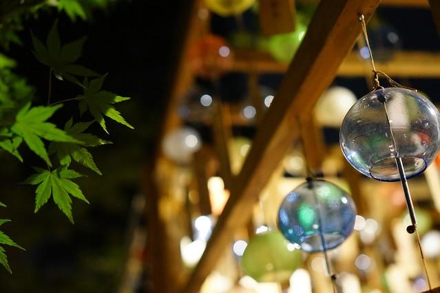 やっと 風鈴を見た ?  #川越氷川神社 #風鈴祭り, Sony NEX-5R, Sony E 35mm F1.8 OSS