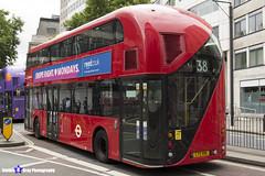 Wrightbus NRM NBFL - LTZ 1196 - LT196 - Victoria 38 - Arriva - London 2017 - Steven Gray - IMG_1237