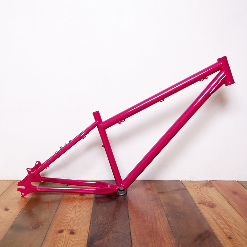 COVE MTB Frame Repainted by Swamp Things.