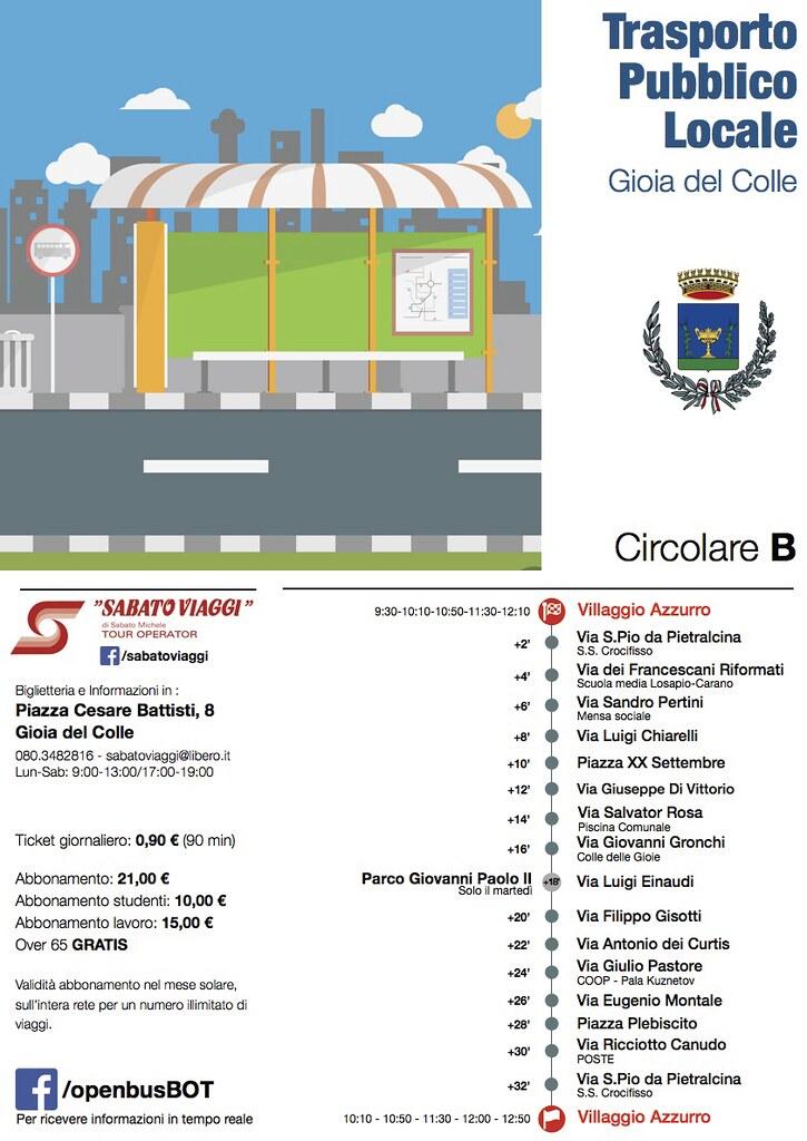 6 bus città Circolare B