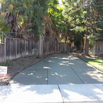 Concrete RV Parking Pad In Vacaville