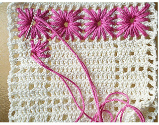😍😍😉 I found this pattern of crocheted rug, and I loved this pattern that delicately see step by step
