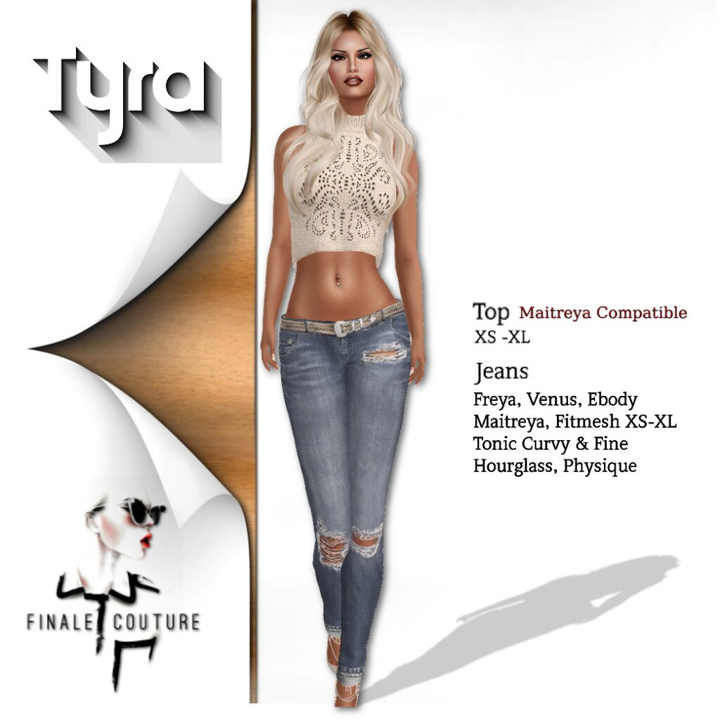Finale Couture Tyra Poster - SecondLifeHub.com