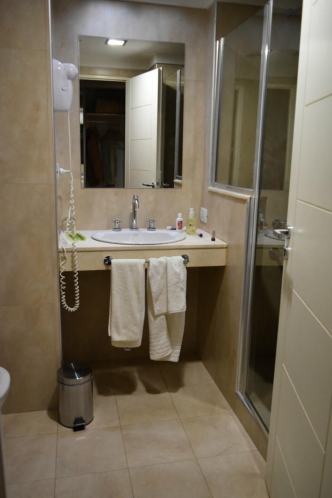 Baño de la habitación