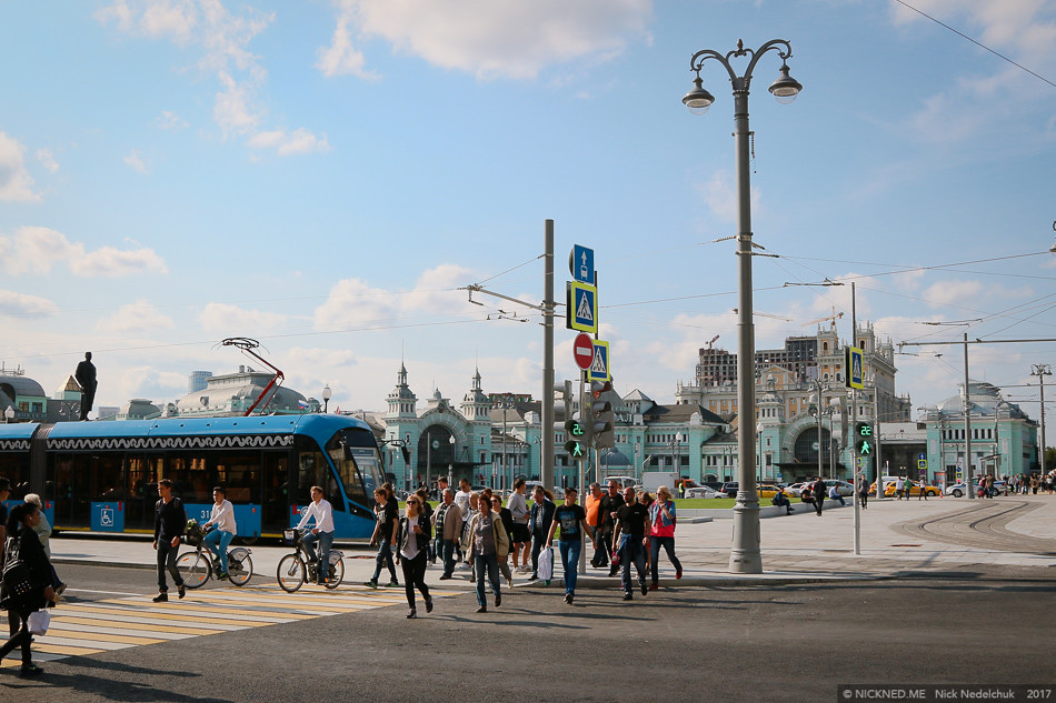 Площадь у Белорусского вокзала просто не узнать! IMG_4217