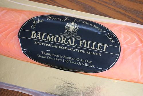 Balmoral Fillet サーモンとアボカドのベーグルサンド