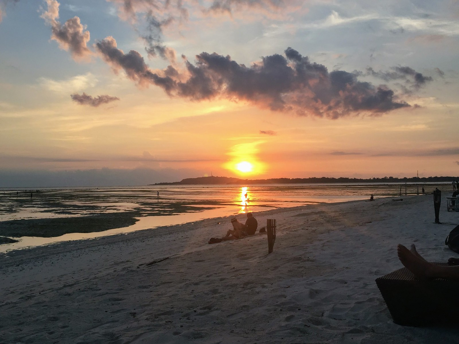 Sunset Gili Air at Mowies