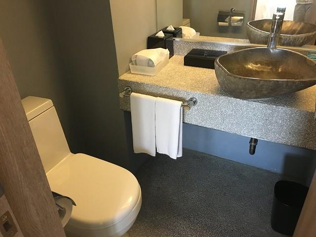 廁所,沒有免治馬桶,哭哭@宜蘭捷絲旅礁溪館