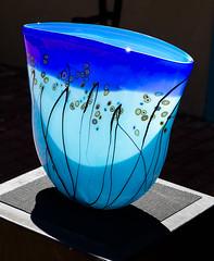 Art Glass - Blue