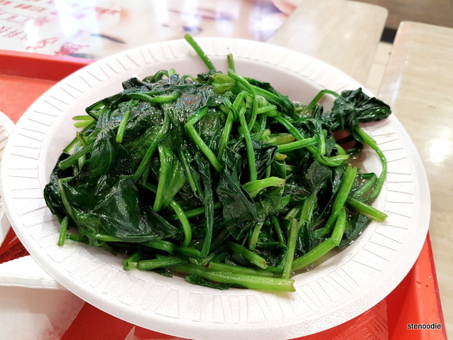 Garlic Fried Spinach