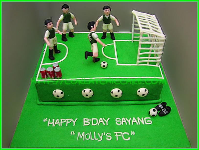 cake soccer Mollys FC