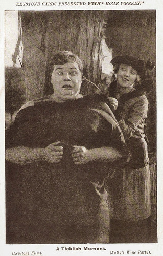 Fatty Arbuckle and Mabel Normand in Fatty's Wine Party (1914)