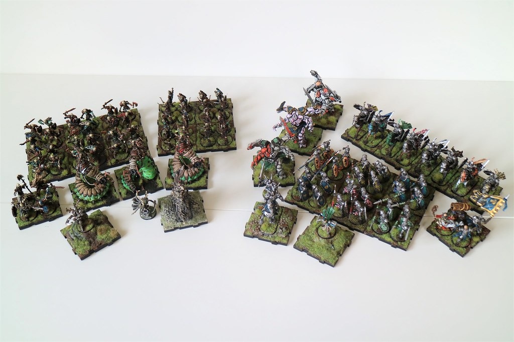 Runewars Miniatures Current Army