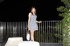 Floral one piece dress_1