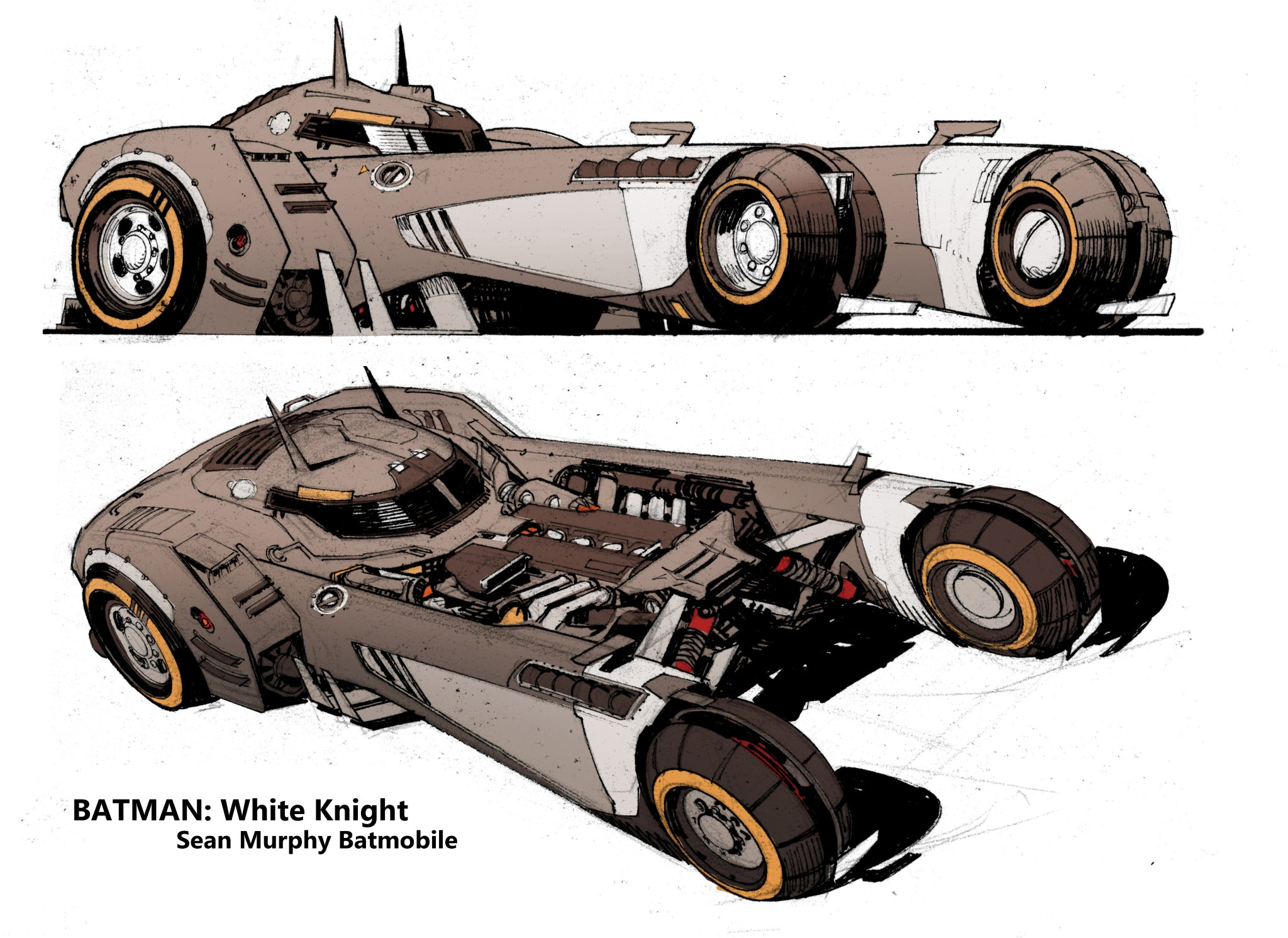 Batmobile white knight 03