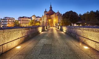 São Gonçalo Bridge and Church - Amarante, Portugal