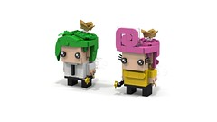 Bickheadz Fairly Odd Parents Pair 1