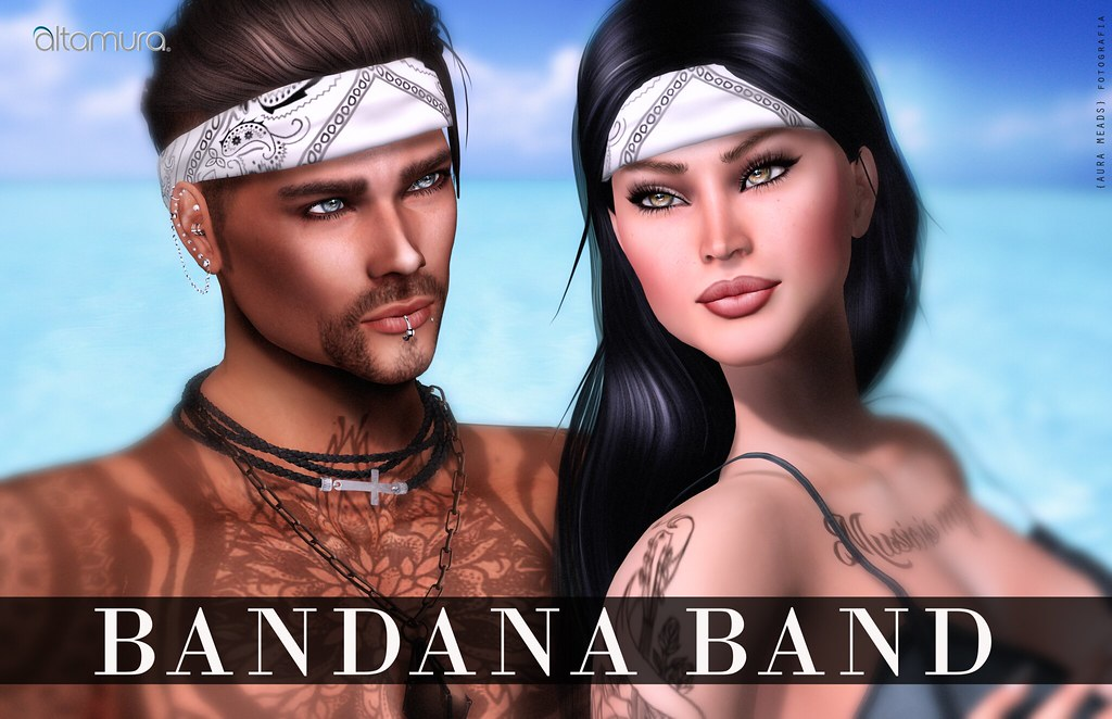 Altamura Bandana Band - SecondLifeHub.com
