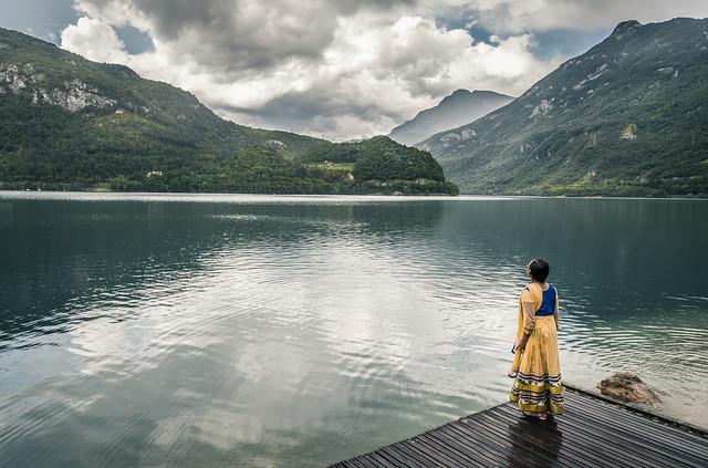 Uno sguardo sul lago