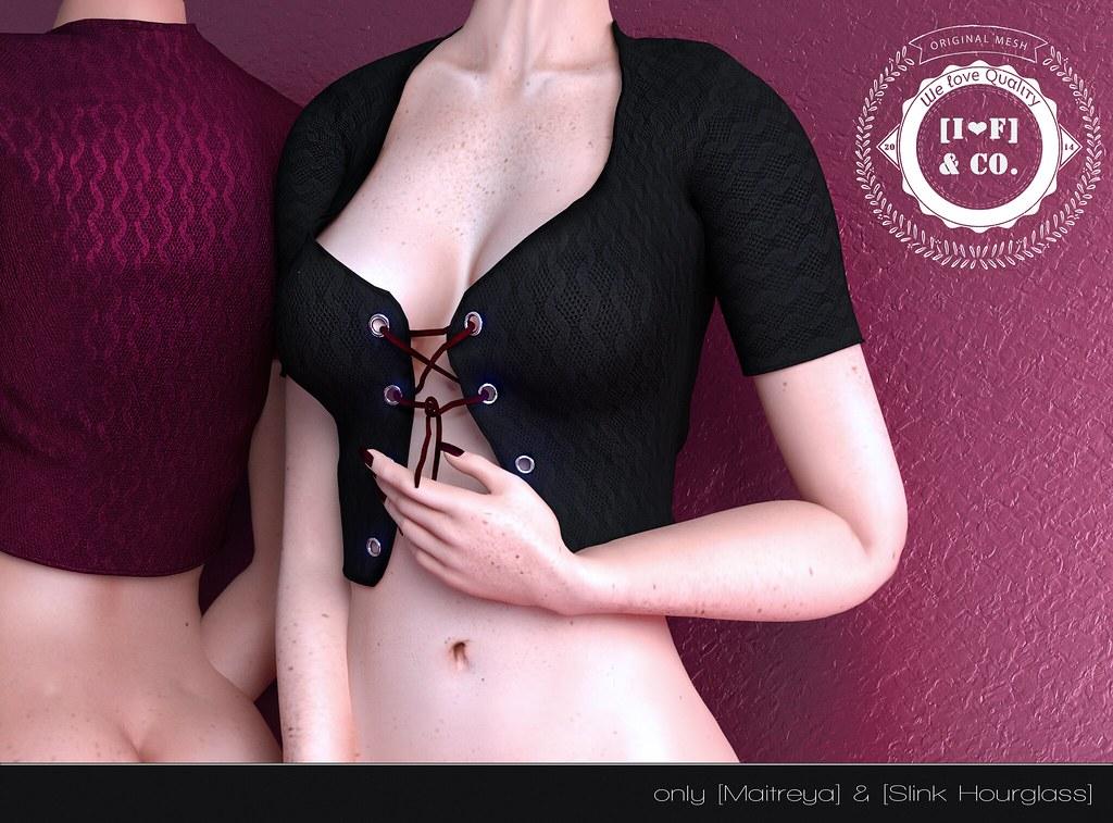 [I<3F] Vest [01] @Whimsical - SecondLifeHub.com