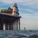 Long Boarder and Brighton Pier by lomokev