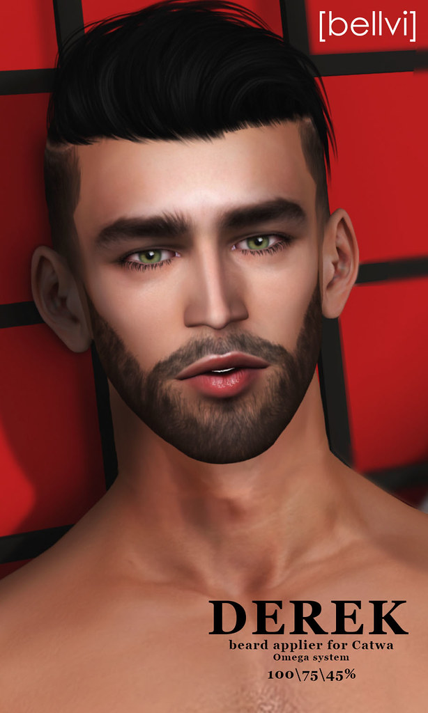 [bellvi] beard and Shape Derek - SecondLifeHub.com