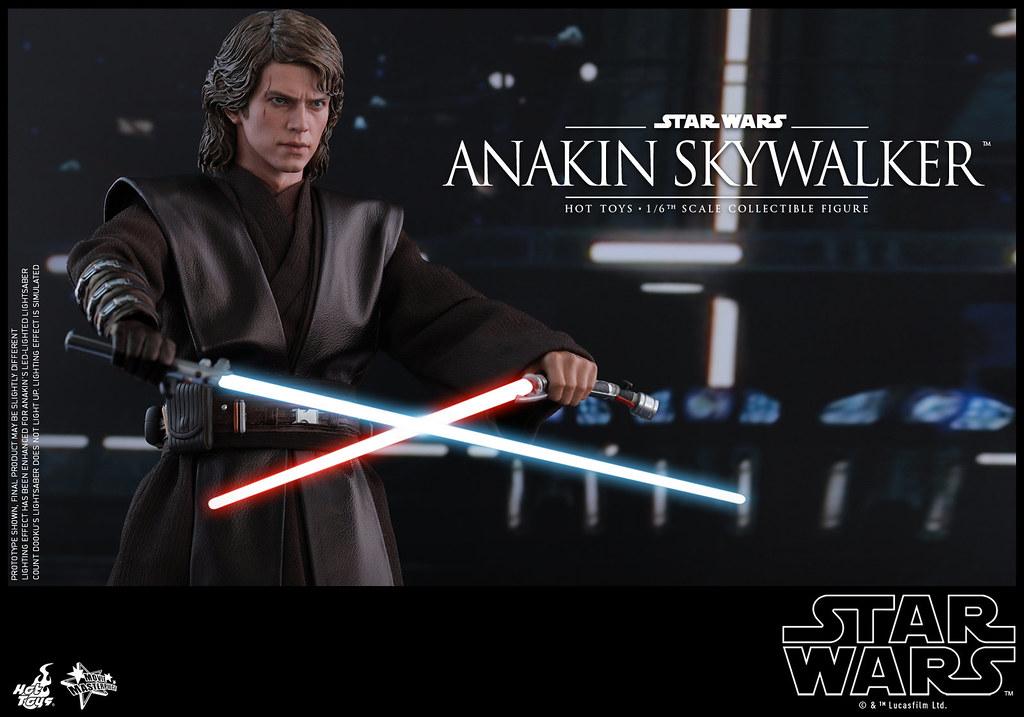 Hot Toys - MMS437 - 《星際大戰:西斯大帝的復仇》1/6 比例 安納金·天行者 Star Wars Episode III: Revenge of the Sith Anakin Skywalker