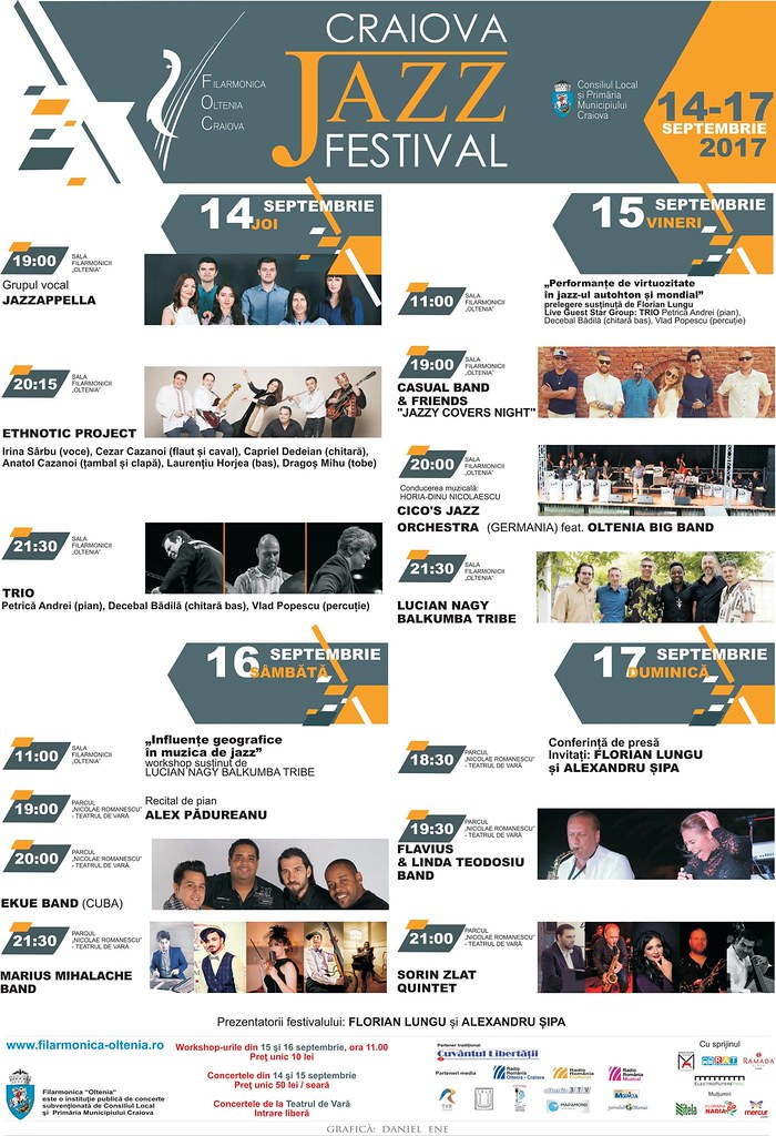 Craiova Jazz Festival Program