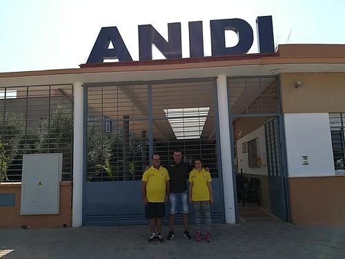 Donación de la PD Rociera al Club Deportivo Anidi