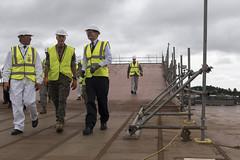 CJCS visits Scotland tours HMS Prince of Wales and HMS Ambush