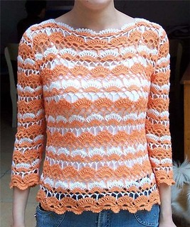 💜💜💜 loving this model that more charming crochet blouse, I found this pattern very delicate to see step by step