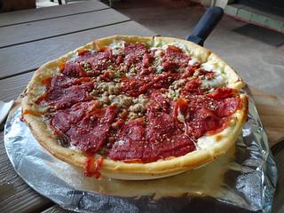 芝加哥深盤披薩