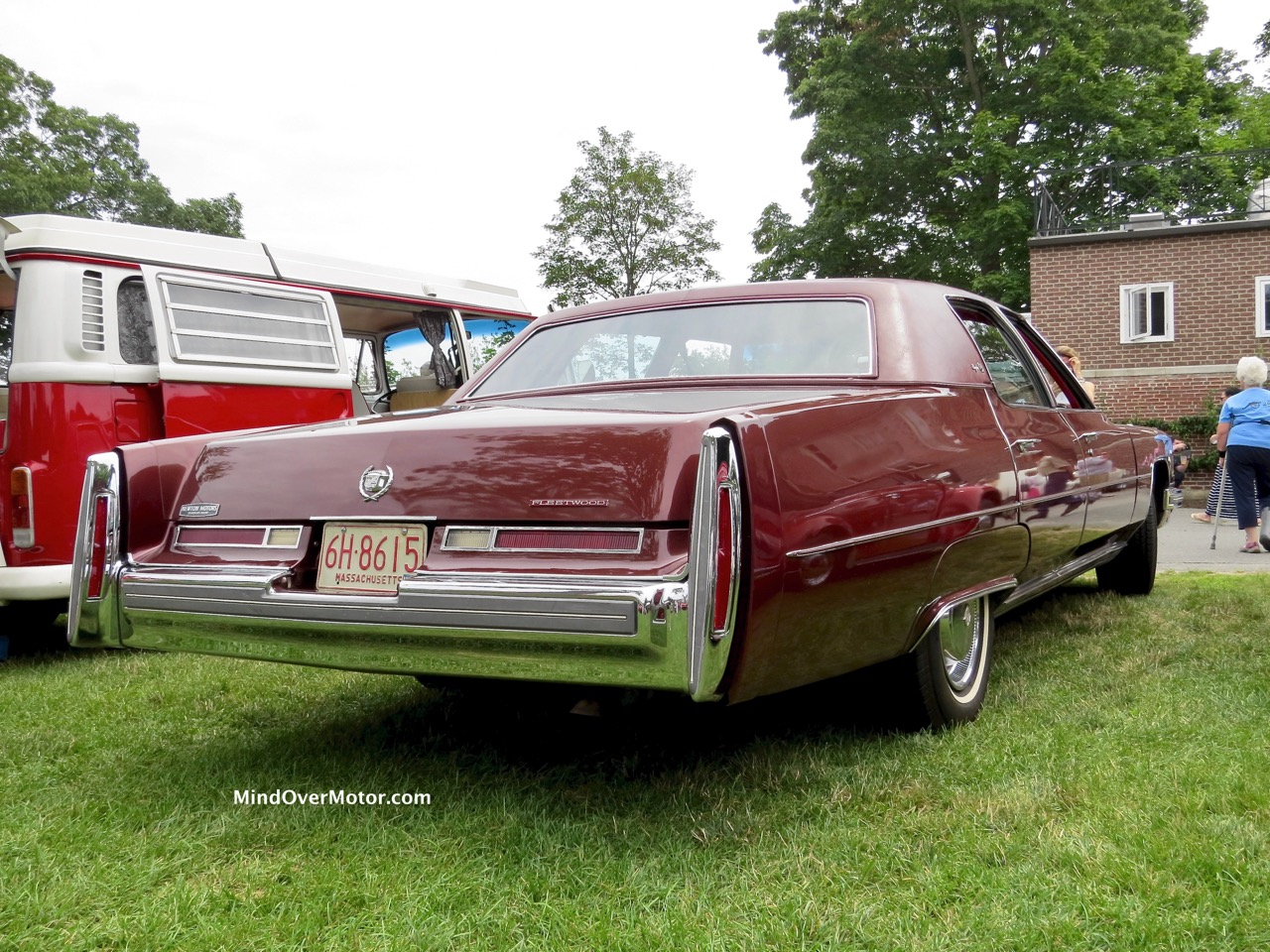 1976 Cadillac Fleetwood Rear 1