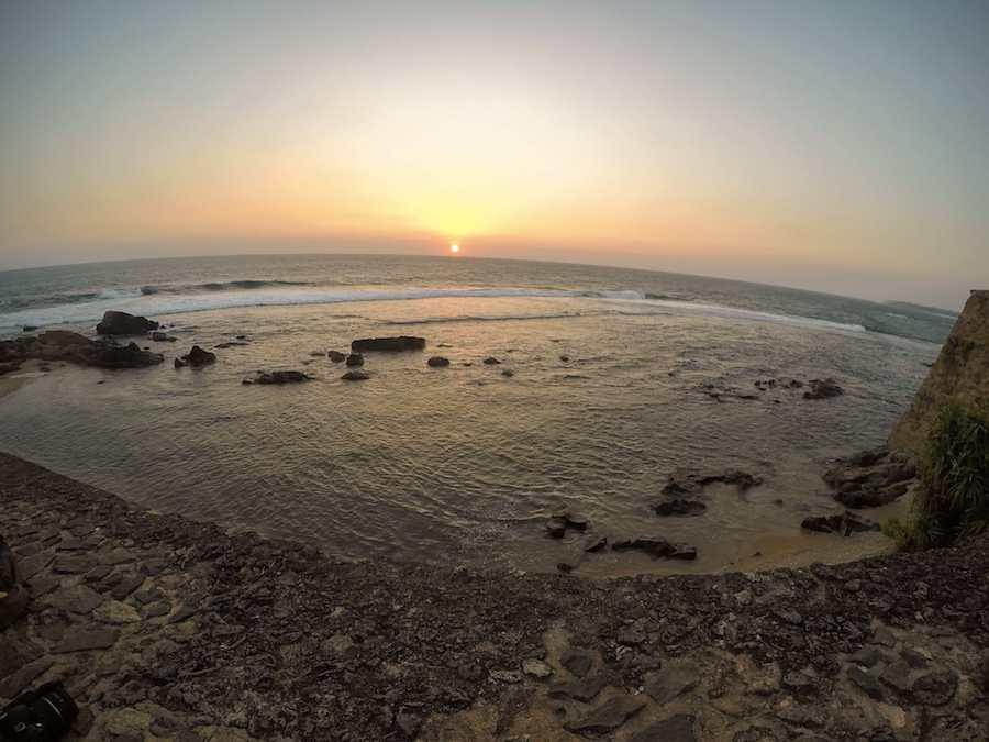 Galle Fort ocean
