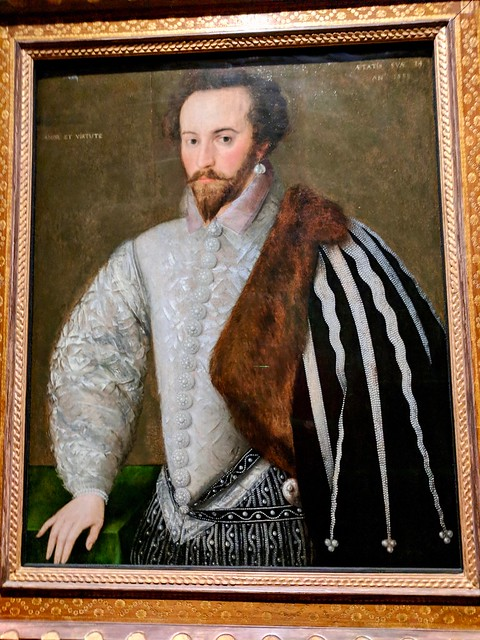 Sir Walter Raleigh at the National Portrait Gallery
