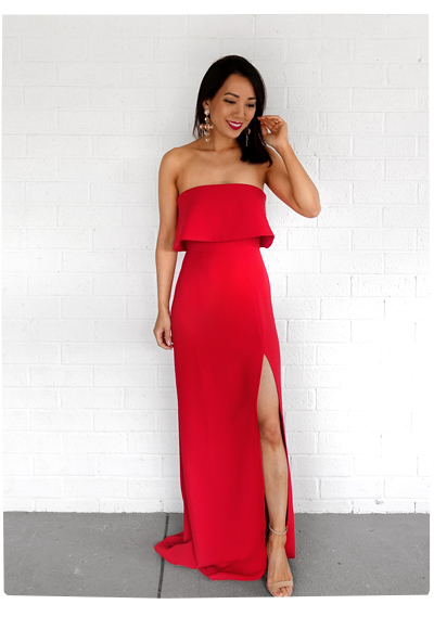 Lovers and Friends Red Dress