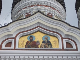Russian Orthodox Cathedral, Tallinn - close-up
