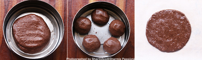 How to make Ragi sweet roti recipe - Step4