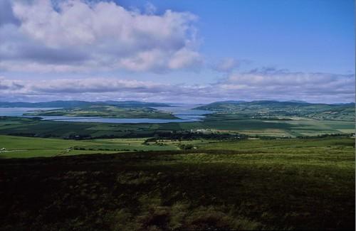 ierland1986fietsvakantie giantscausewayencausewaycoast heritageeuropa verenigdkoninkrijk europa noordierland gbr heritagevk