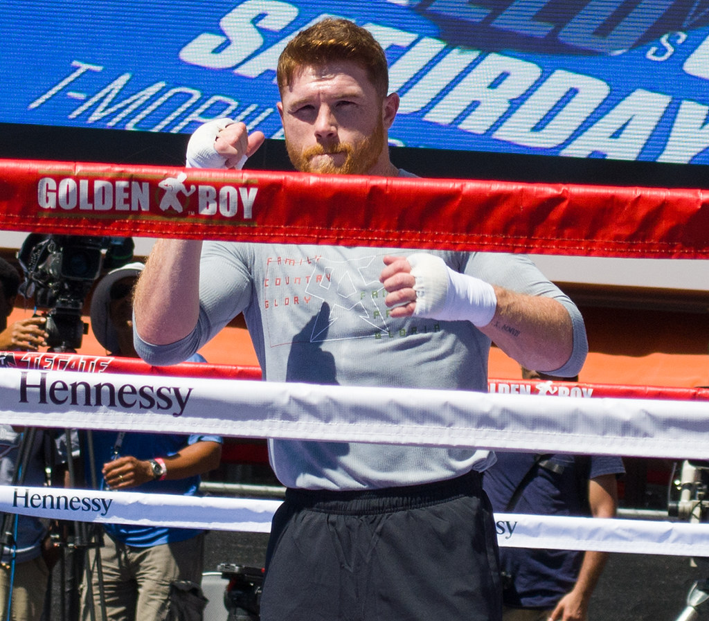 Canelo Shadow Boxing